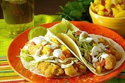 Baja-Style Fish Tacos