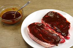 Wet Rub on Steaks