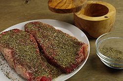 Steaks with Pepper