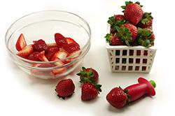 Stemming Strawberries