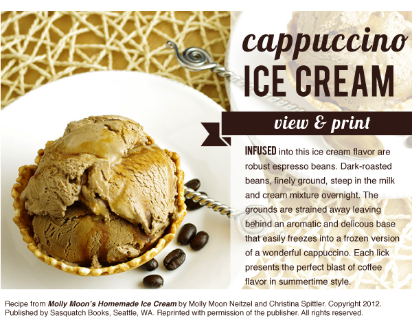 RECIPE: Cappucino Ice Cream