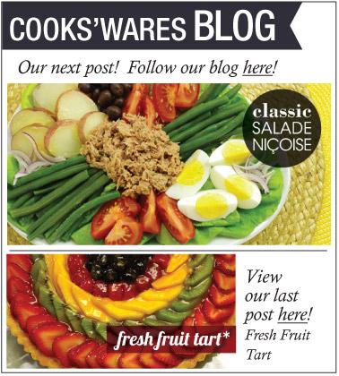 Follow the Cooks'Wares Blog