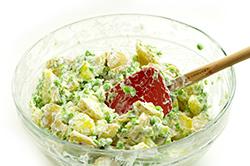 Stirring Salad