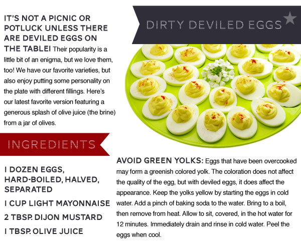 Dirty Deviled Eggs