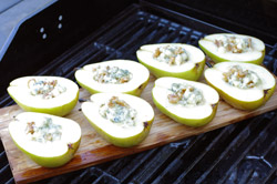 Grilling Pears