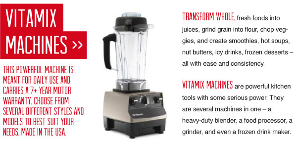 Vitamix Machine