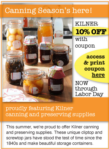 Kilner Canning Supplies