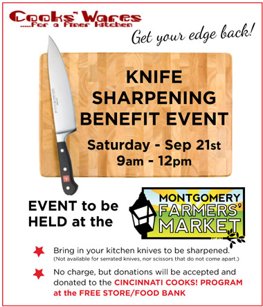 Knife Sharpening Benefit