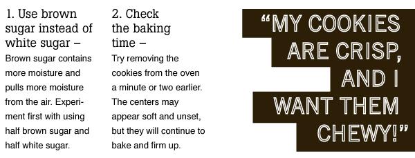 Crisp vs Chewy