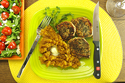 Thyme-Dusted Pork Medallions