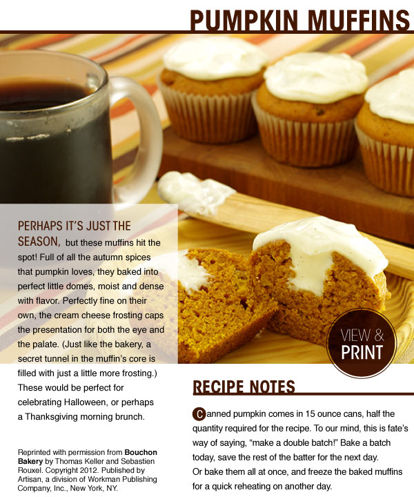 RECIPE: Pumpkin Muffins