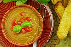 Eggplant Parmesan Soup