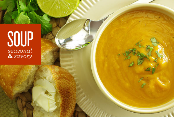 Soup Seasonal & Savory