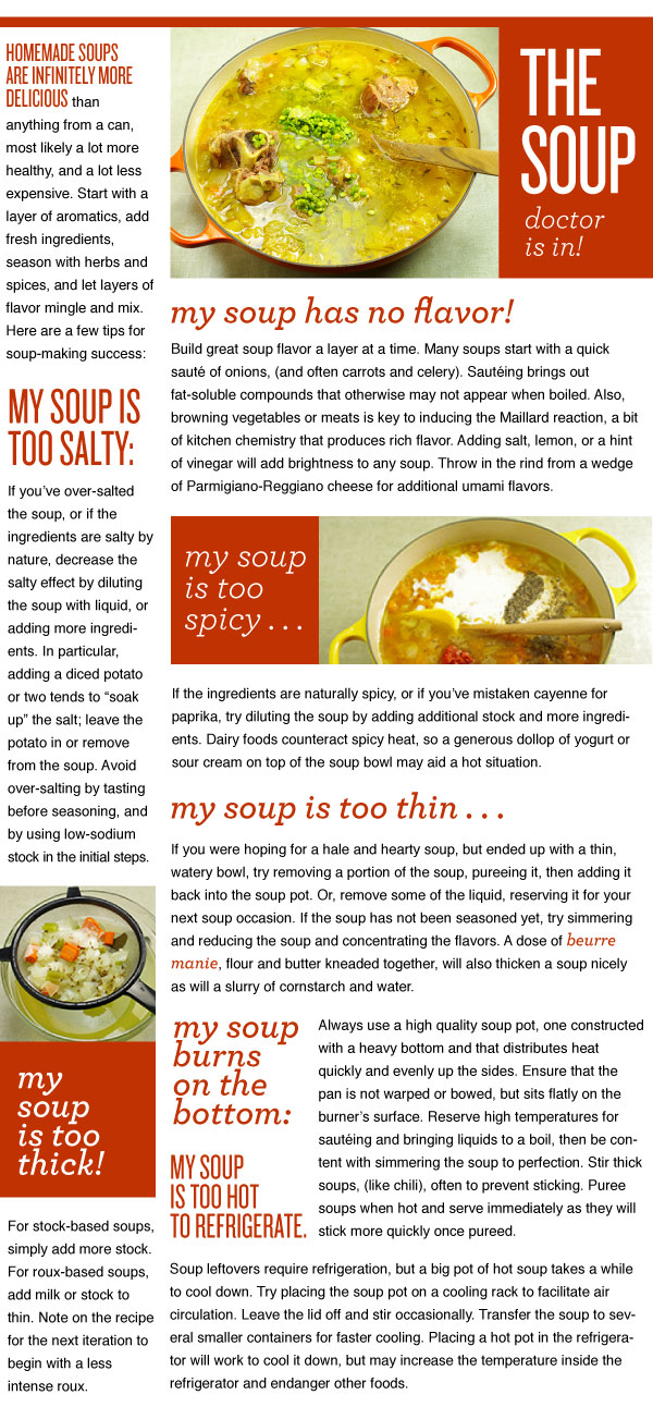The Soup Doctor is In!