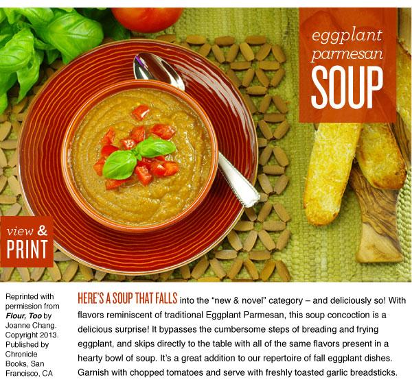 RECIPE: Eggplant Parmesan Soup