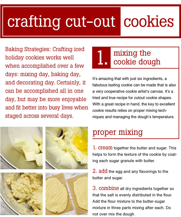 Crafting Cut-Out Cookies
