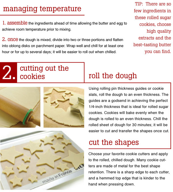 Cutting out the Cookies