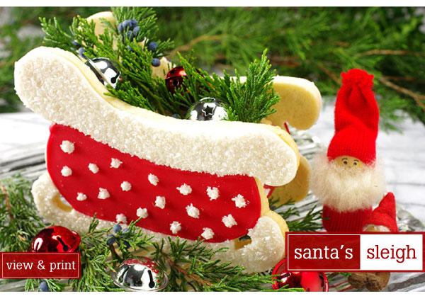 RECIPE: Santa's Sleigh