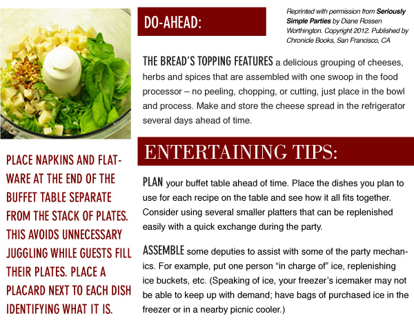 Cheese Bread Tips
