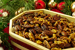Warm Sweet & Spicy Mixed Nuts