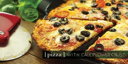 Cauliflower-Crusted Pizza