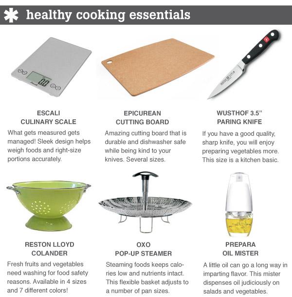 Healthy Cooking Essentials