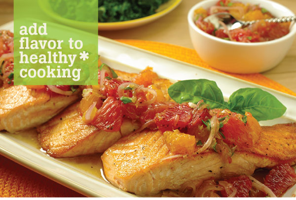 Add Flavor to Healthy Cooking