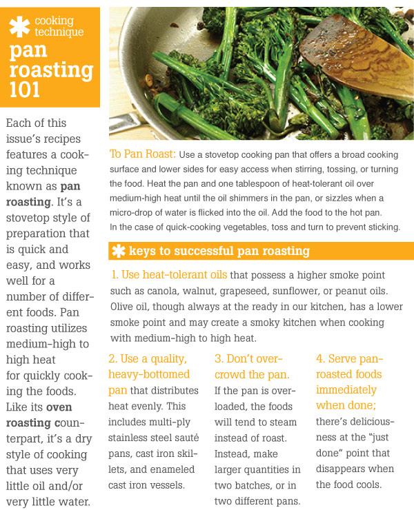 Cooking Technique: Pan Roasting 101