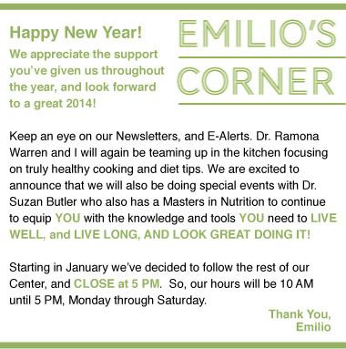Emilio's Corner