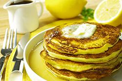 Lemon Ricotta Pancakese