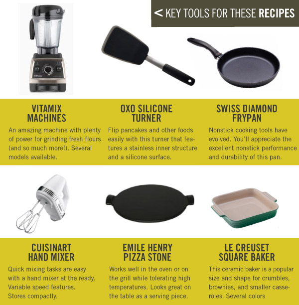 Key Tools for These Recipes
