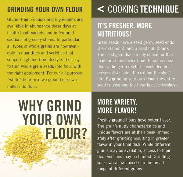 Cooking Technique: Grinding your Own Flour