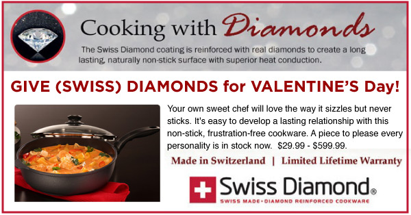 Cooking with Diamonds