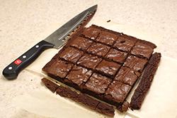 Cut Brownies