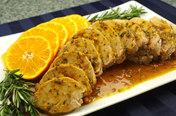 Roast Pork Tenderloin with Orange and Rosemary