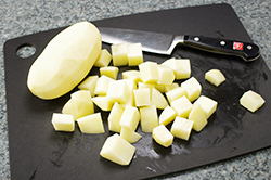 Cut Potatoes
