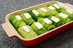 Butter on Cabbage Rolls