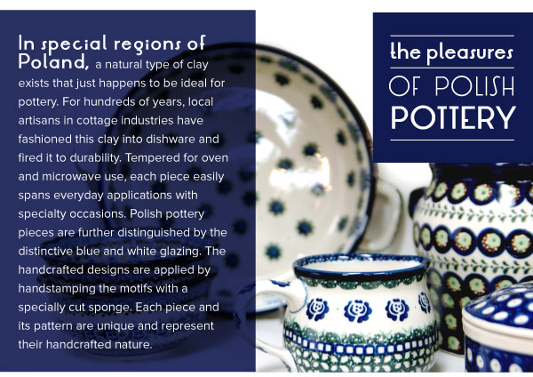The Pleasures of Polish Pottery