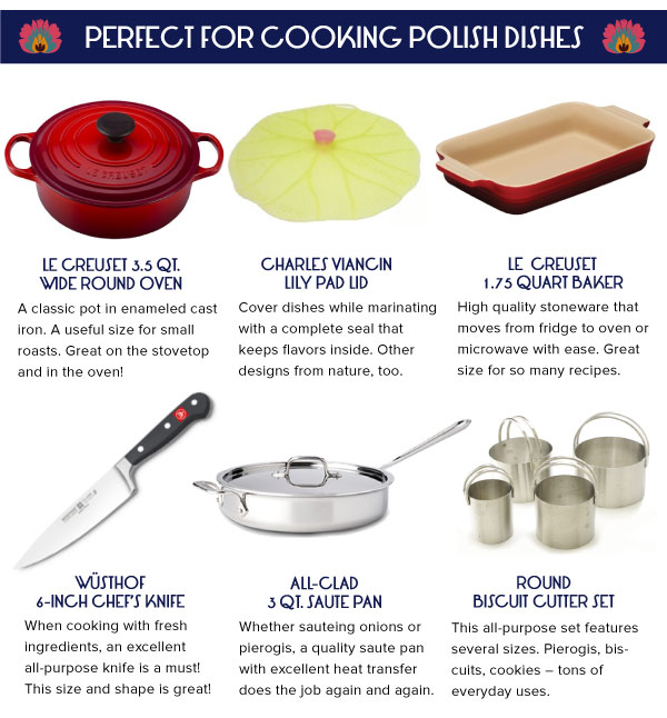 Perfect for Cooking Polish Dishes
