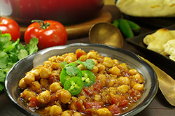 Sassy Chickpea Curry - Chana Masala