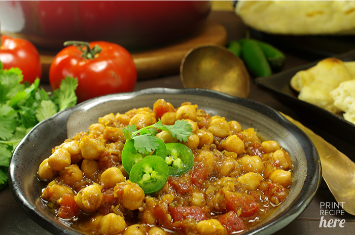 Sassy Chickpea Curry