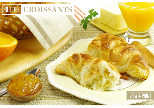 RECIPE: Butter Croissants