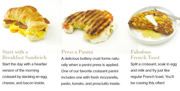 Croissant Variations