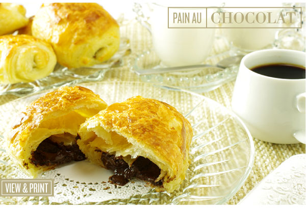 RECIPE: Pan Au Chocolate