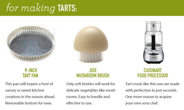 For Making Tarts