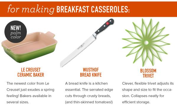 For Making Breakfast Casseroles