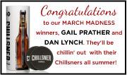 March Madness Winners