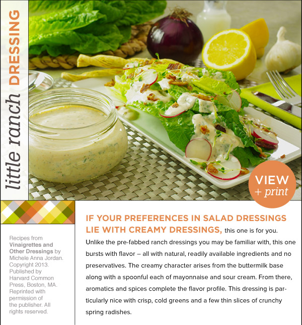 RECIPE: Little Ranch Dressing