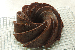 Baked Cake in Rack