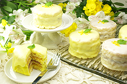 Little Lemon Layer Cakes